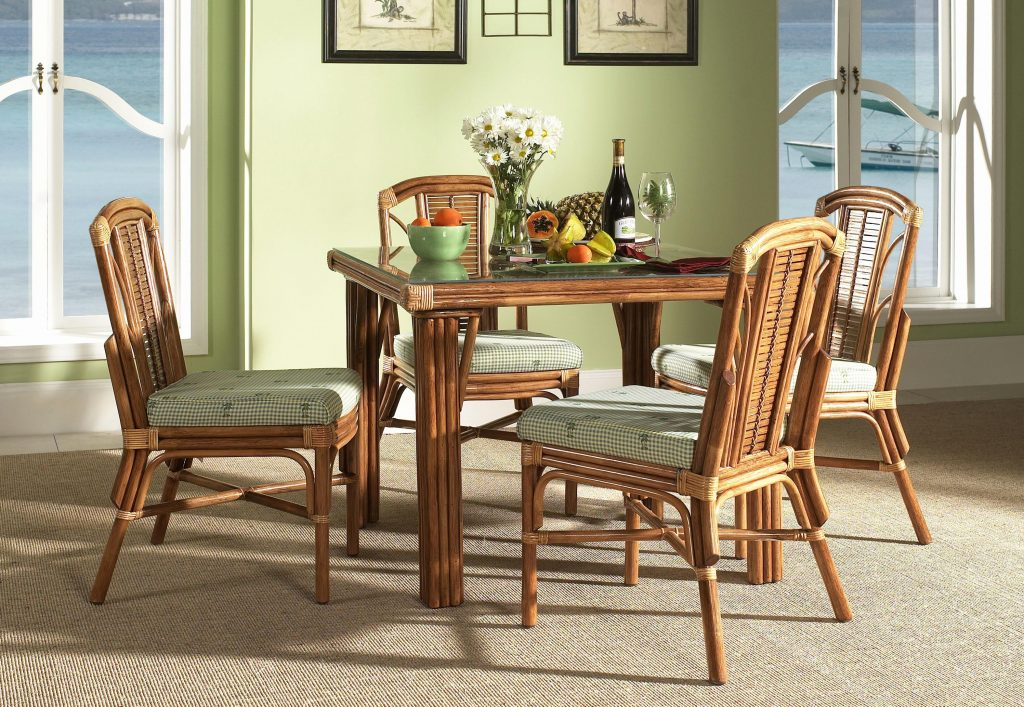 Indoor Wicker Dining Chairs Ealworks Rattan Dining Chairs