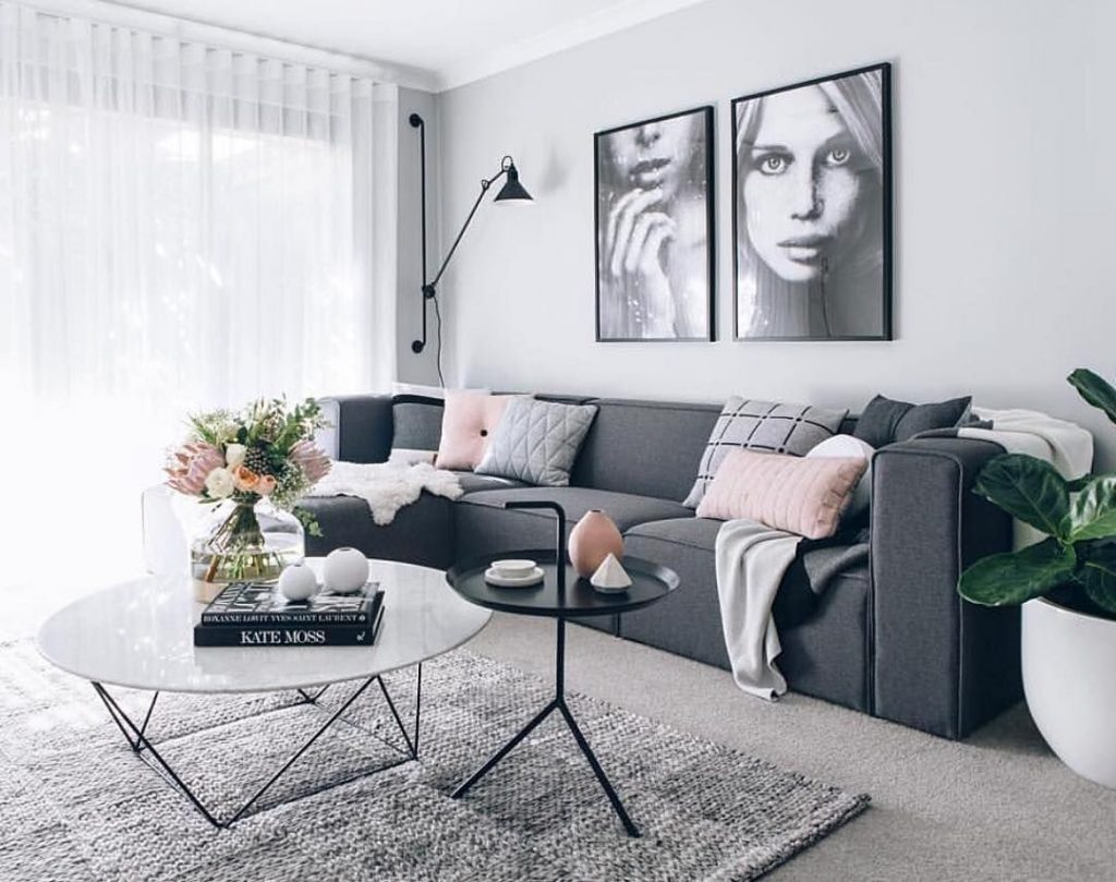 Interior Design Ideas With Grey In 2019 Groes Esszimmer