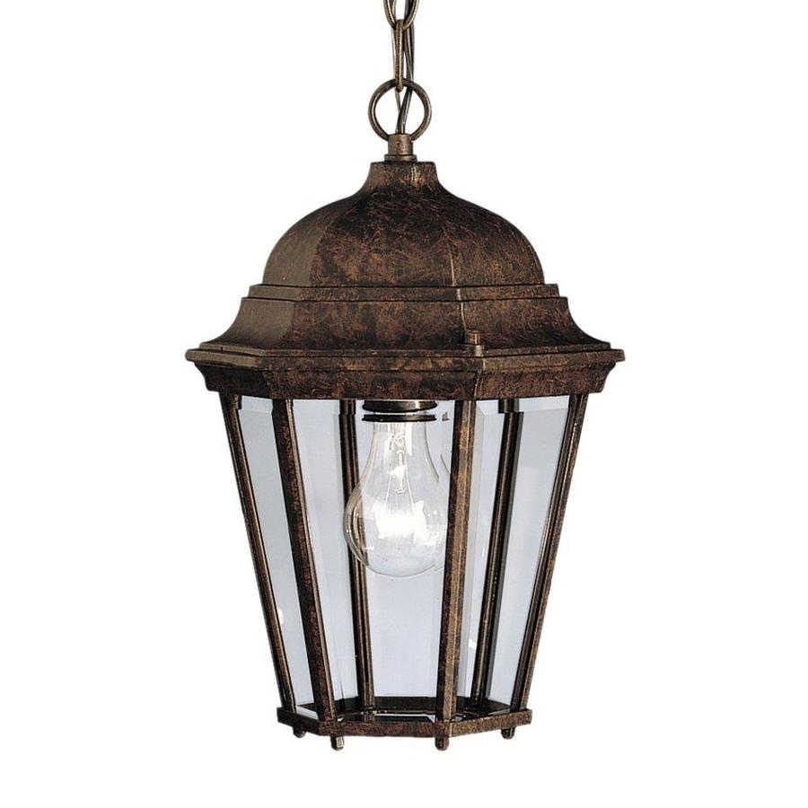 Kichler Madison 135 In Tannery Bronze Outdoor Pendant Light At