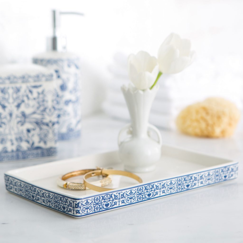 Kit Marble Bathroom Accessory Tray Reviews Birch Lane