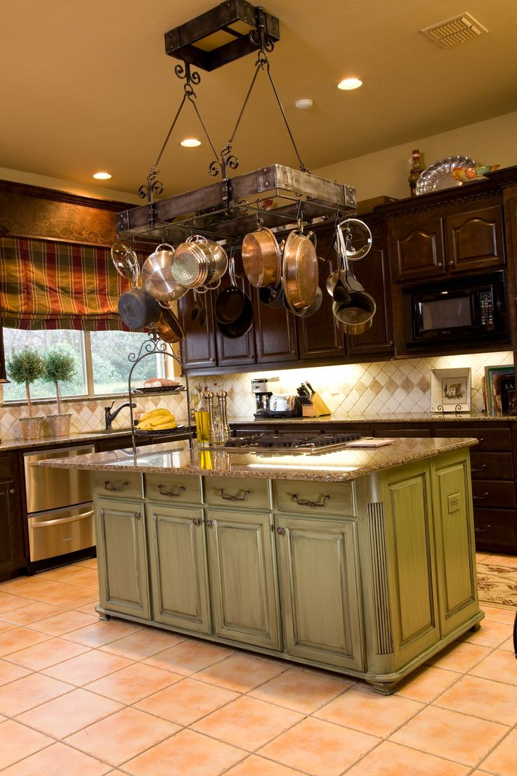 Kitchen Cabinet Pots And Pans Hanger Edina
