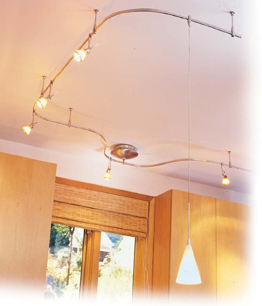 Kitchen Renovation Expert Suggests Using Flexible Track Lighting To