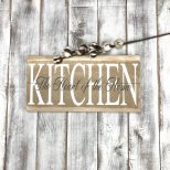 Kitchen Signs Decor Farmhouse White Rustic Home Decor Shab Etsy