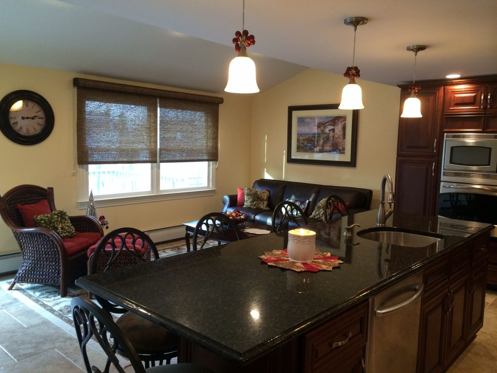 Kitchen With Casual Seating Area Tammys Kitchen Pinterest