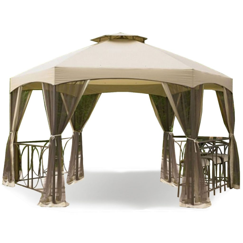 Kmart Jaclyn Smith Dutch Harbor 145 Ft Hexagon Gazebo Replacement