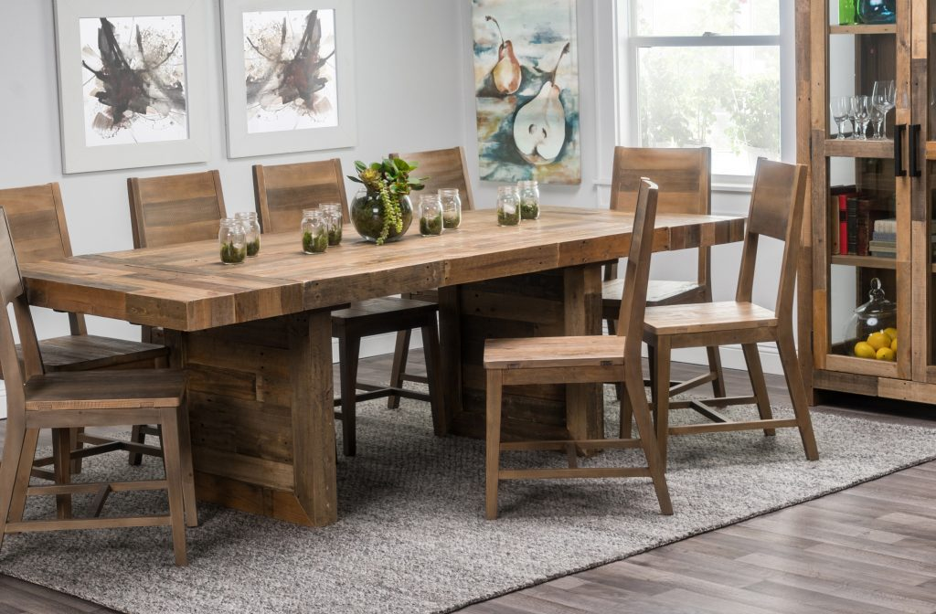 Kosas Home Norman Extendable Solid Wood Dining Table Birch Lane