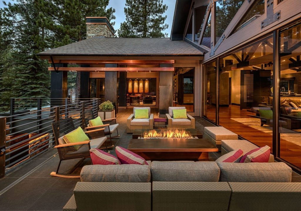 Lake Tahoe Home Embrace Style With Your Outdoor Living Spaces