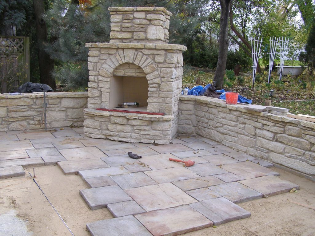 Landscape Under Oak Tree Ideas Flagstone Other Natural Materials