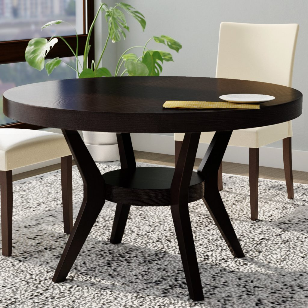 Latitude Run Connor Transitional Dining Table Wayfair
