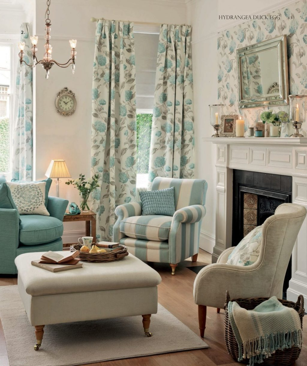 Laura Ashley Love This Living Room The Colors Are So Peaceful And