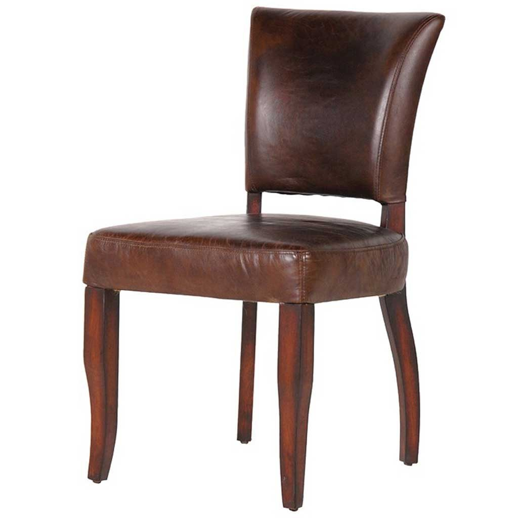 Leather Dining Chair Handmade Kitchens In Norwich Norfolk Hydes
