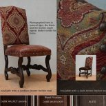 Leather Dining Chairs Tuscan Red