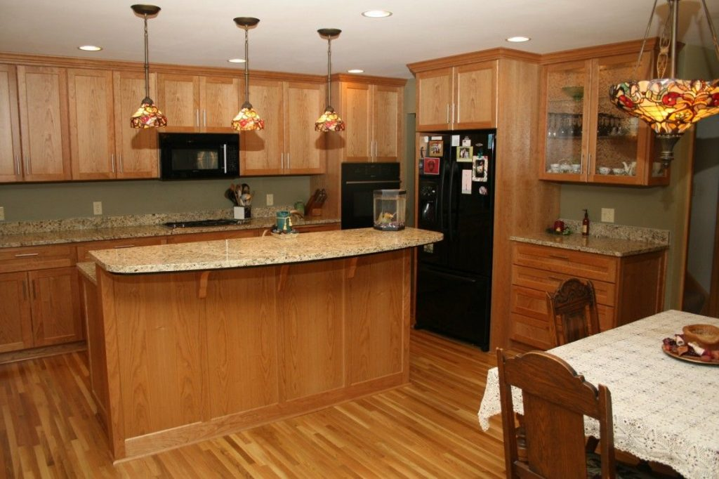 Light Cherry Wood Kitchen Cabinets Kitchens Kitchen Cabinets
