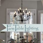 Chandeliers for Dining Room Farmhouse