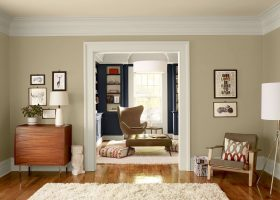 Neutral Living Room Paint