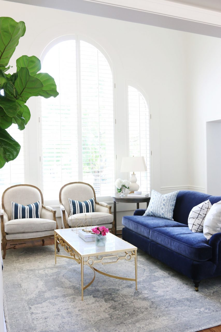 Living Room Makeover Ryan Park Project Home Chic Home Blue