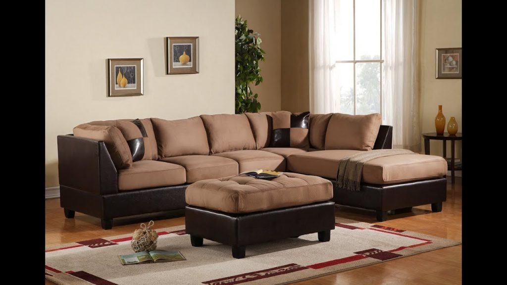 Living Room Paint Ideas With Dark Brown Leather Furniture