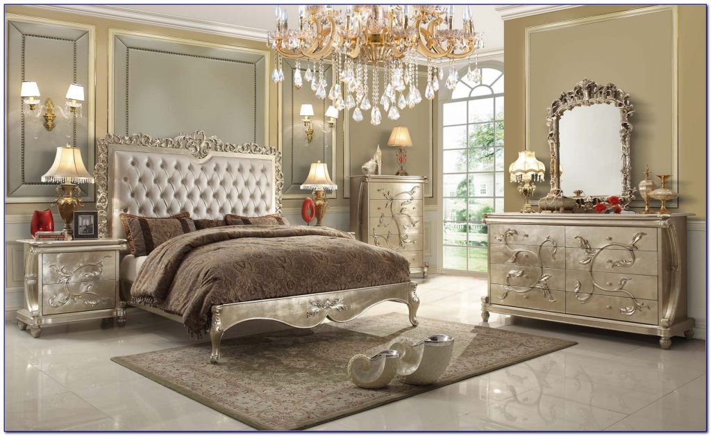 Luxurious And Splendid Victorian Style Bedroom Furniture