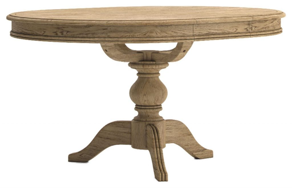 Lymington Round Extending Dining Table Solent Beds Limited