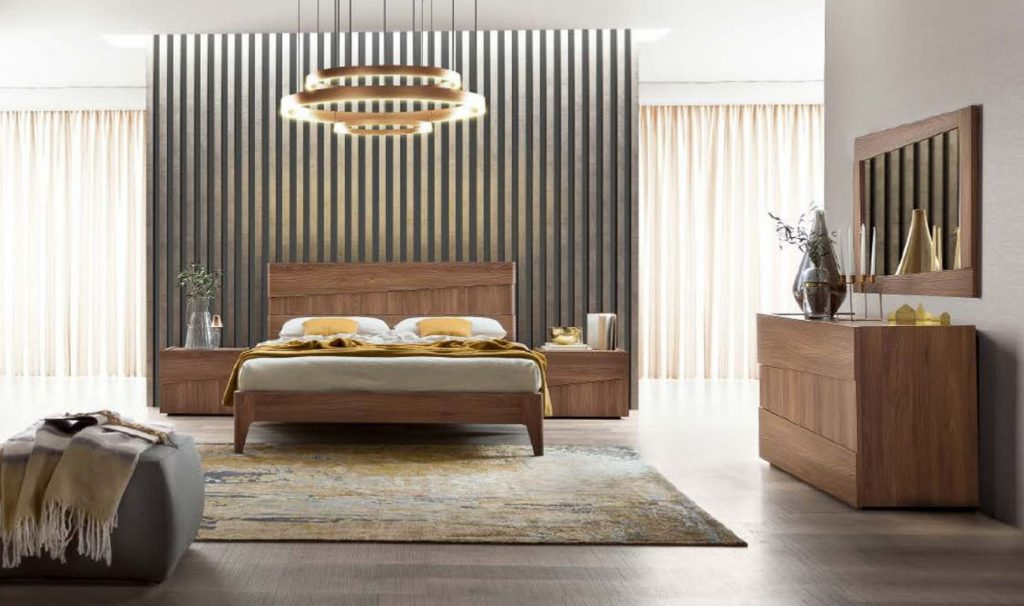 Made In Italy Wood Platform Bedroom Furniture Sets St Petersburg