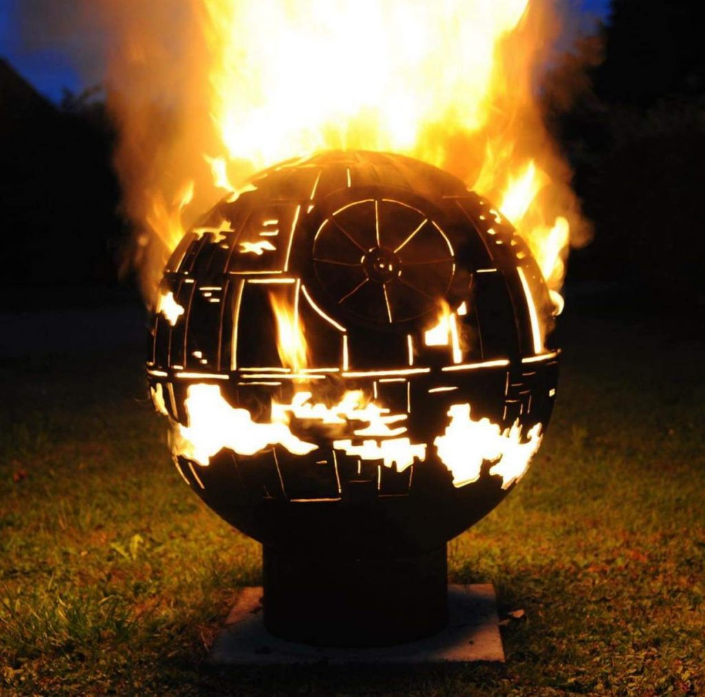 Made This Death Star Fire Pit What Do You Guys Think Metalworking