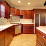 Kitchens with Mahogany Cabinets