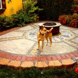 Making A Patio With Pavers Around Paver Patio Landscape Ideas Patio
