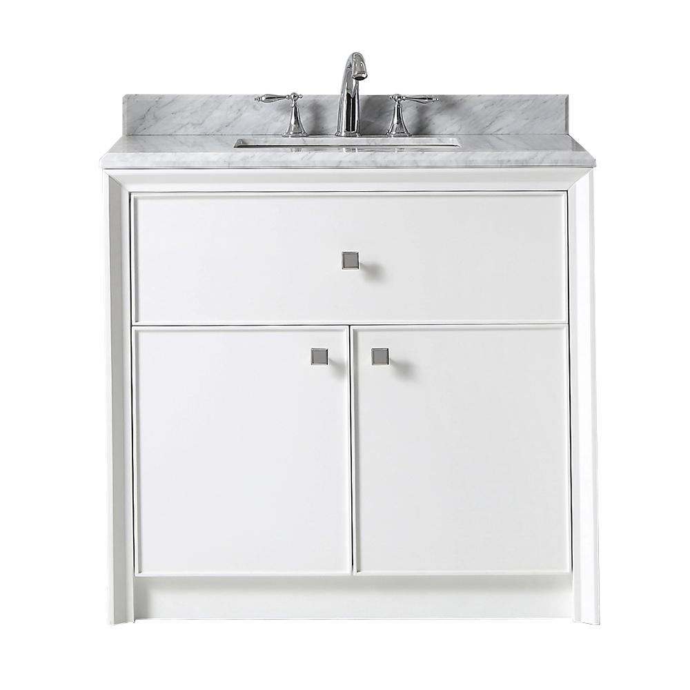 Martha Stewart Living Parrish 36 In W X 22 In D Bath Vanity In