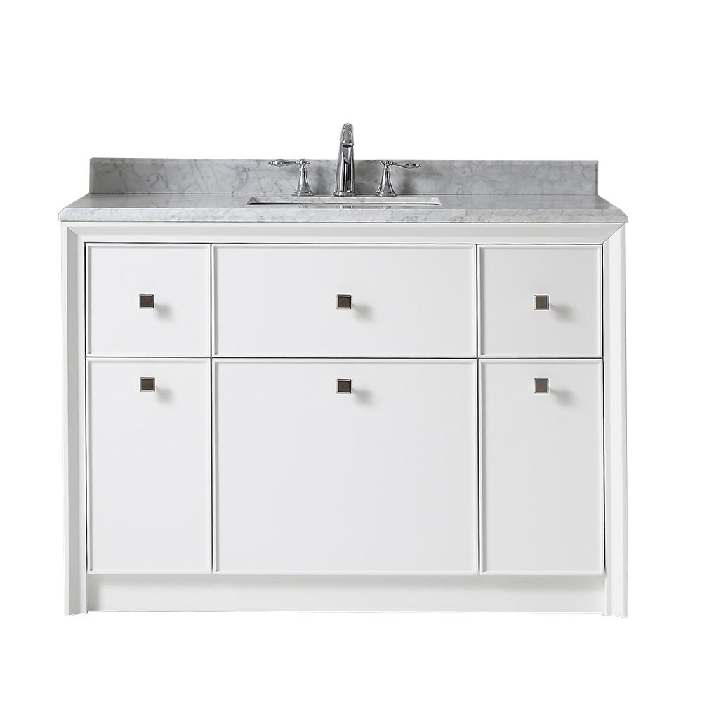Martha Stewart Living Parrish 48 In W X 22 In D Bath Vanity In