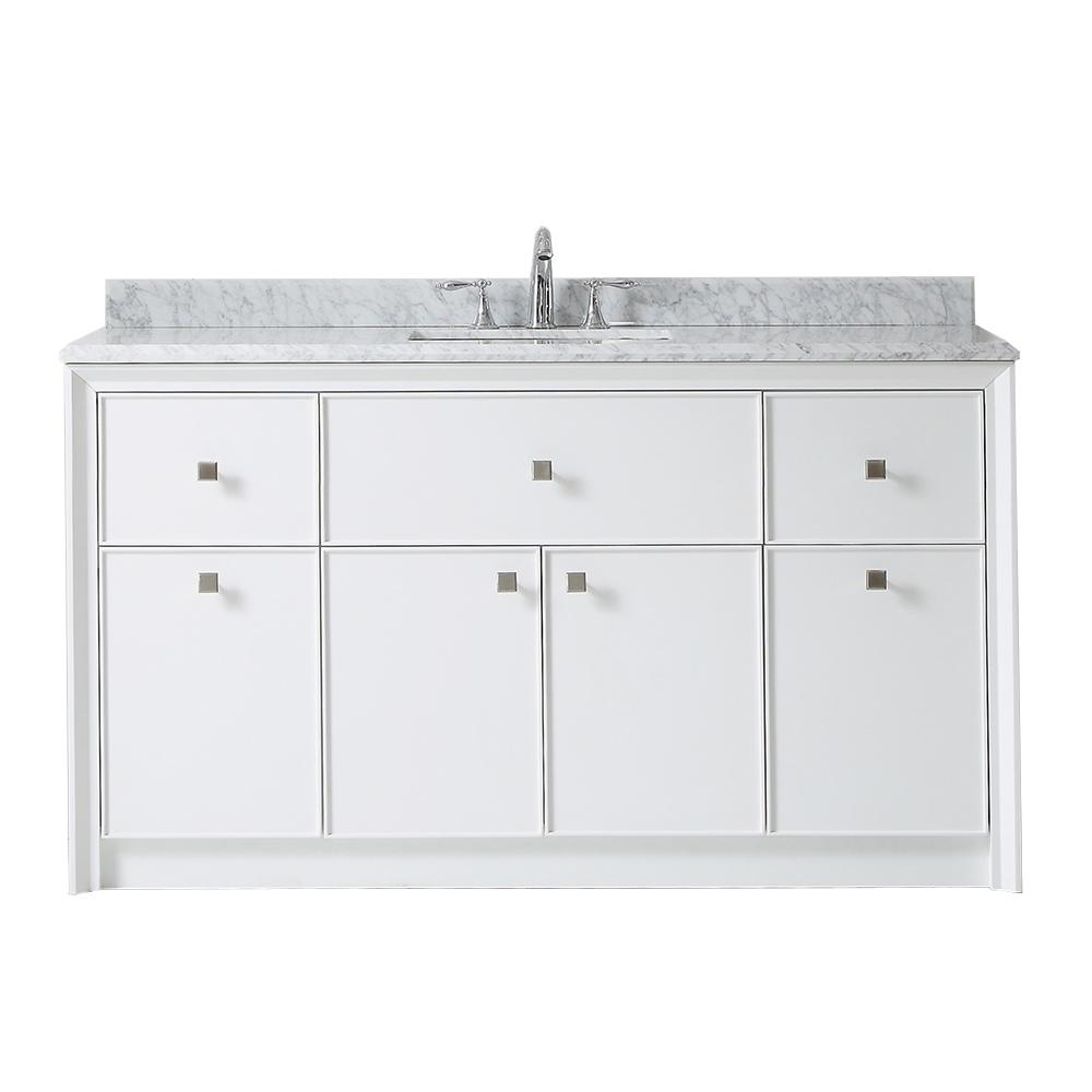 Martha Stewart Living Parrish 60 In W X 22 In D Bath Vanity In