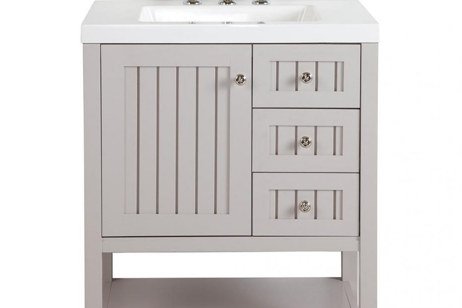 Martha Stewart Living Seal Harbor 30 In W Bath Vanity In Sharkey