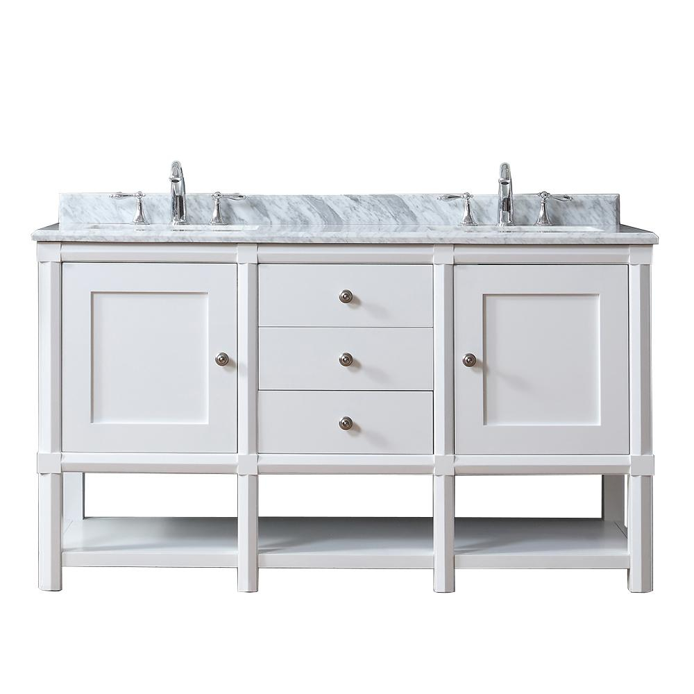 Martha Stewart Living Sutton 36 In W X 22 In D Vanity In Bright