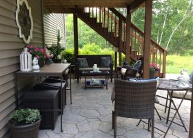 Under Deck Patio Design