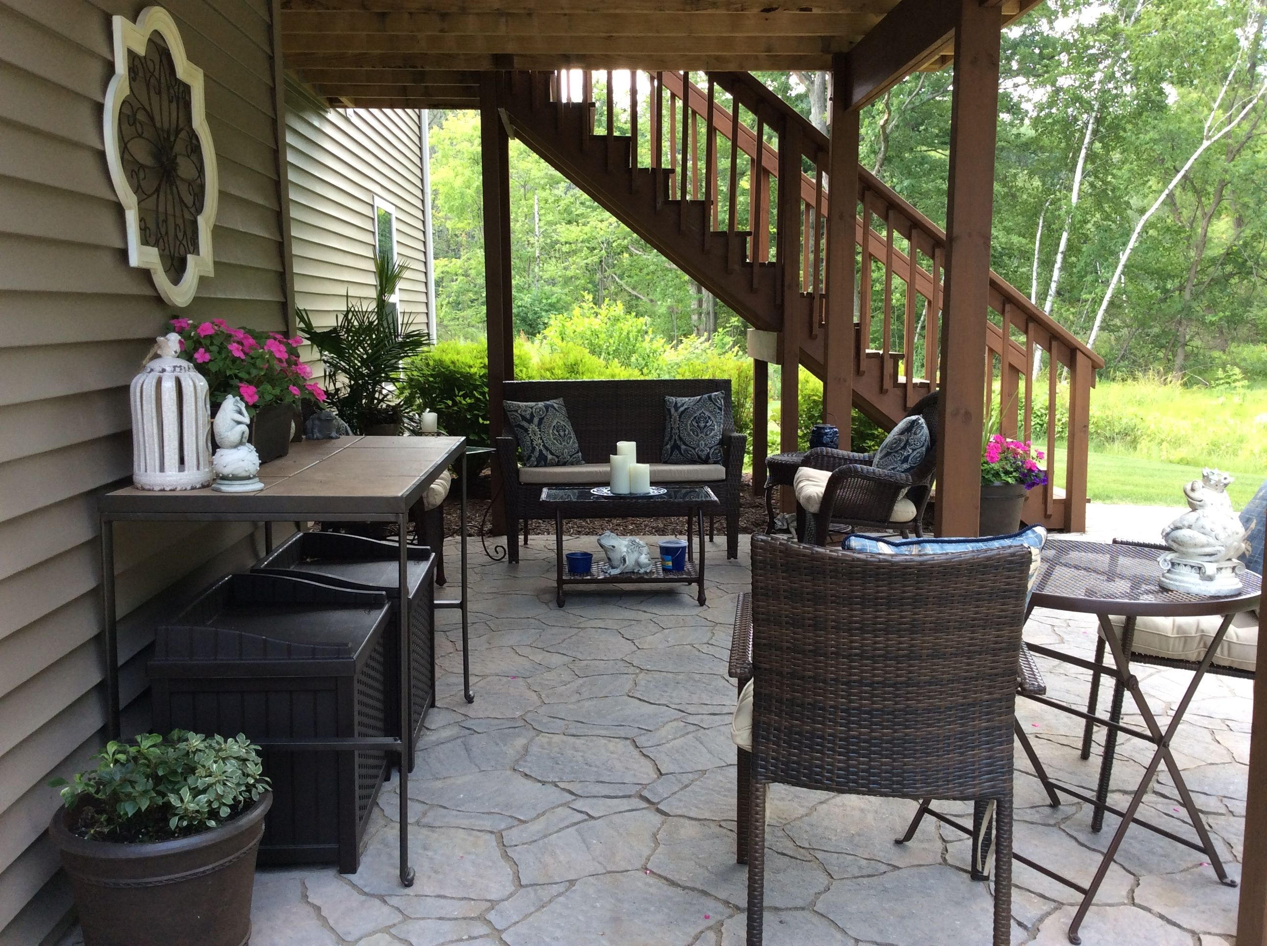 Marvelous Under Deck Patio Ideas And Under Deck Patio Outdoor Living
