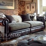 Mixing Leather Sofa With Fabric Chairs Mixing Leather Couch With