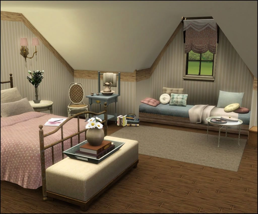 Mod The Sims Real Vaulted Ceilings Tutorial Updated With Peaked