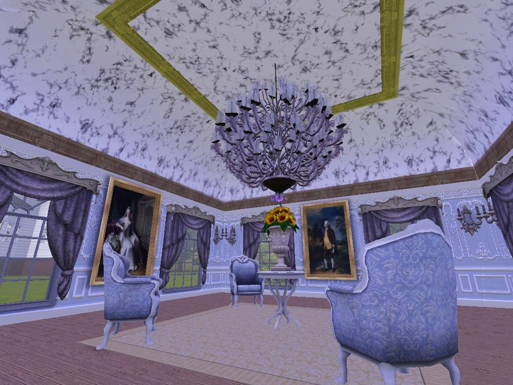 Mod The Sims Vaulted Ceiling Set For Ts3 Updated 62812