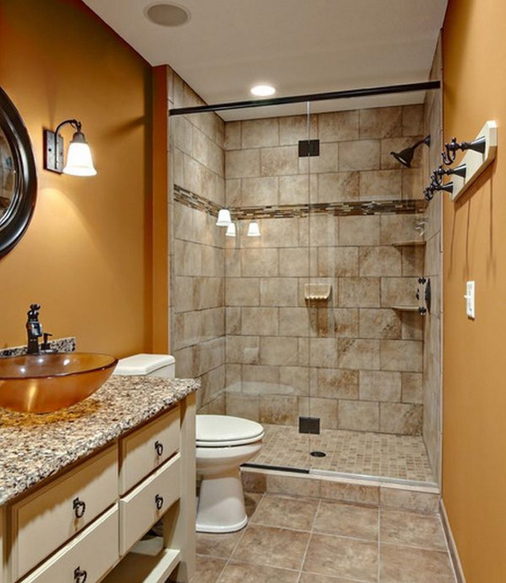 Modern Bathroom Design Ideas With Walk In Shower Small Bathroom
