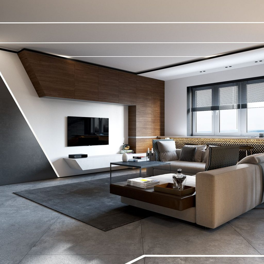 Modern Contemporary Living Room Beauteous Dad Mesavirre