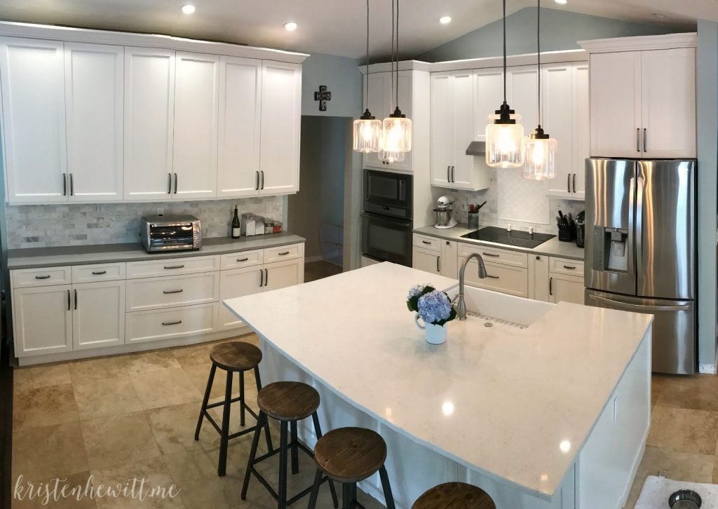 Modern Farmhouse Kitchen Reveal Kristen Hewitt