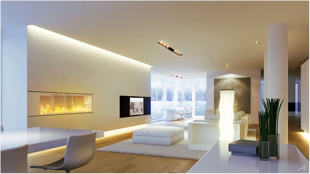 Modern Living Room Indirect Lighting Ideas Apartment In 2019