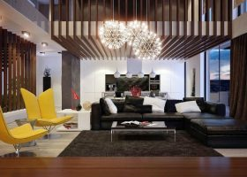 Contemporary Living Room Interior Design