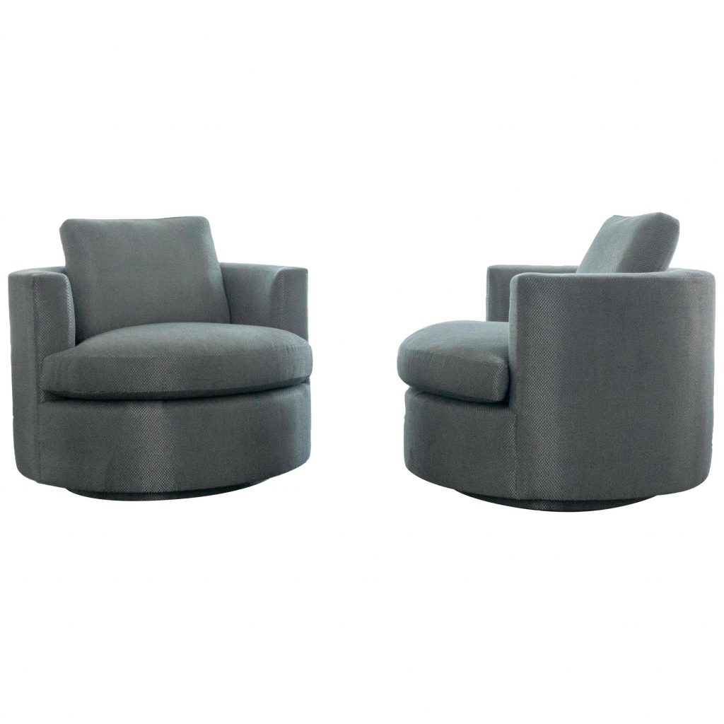 Modern Round Swivel Chair For Sale At 1stdibs Modern Swivel Chairs