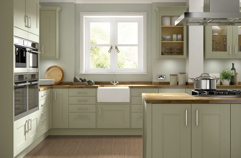 More 5 Simple Olive Green Kitchen Cabinets Home Decoration