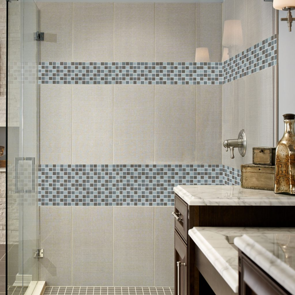 Msi Majestic Ocean Glass Mosaic Tile In White Wayfair