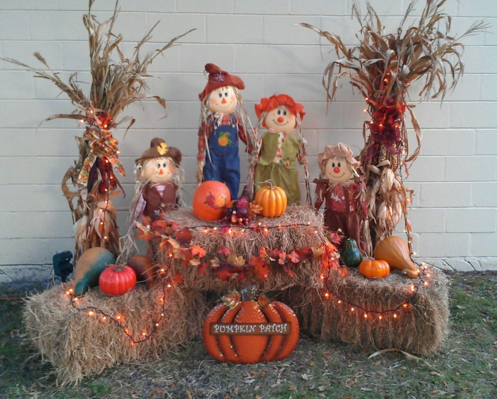 My Outside Decor For Fall For The Home Fall Decor Fall Yard