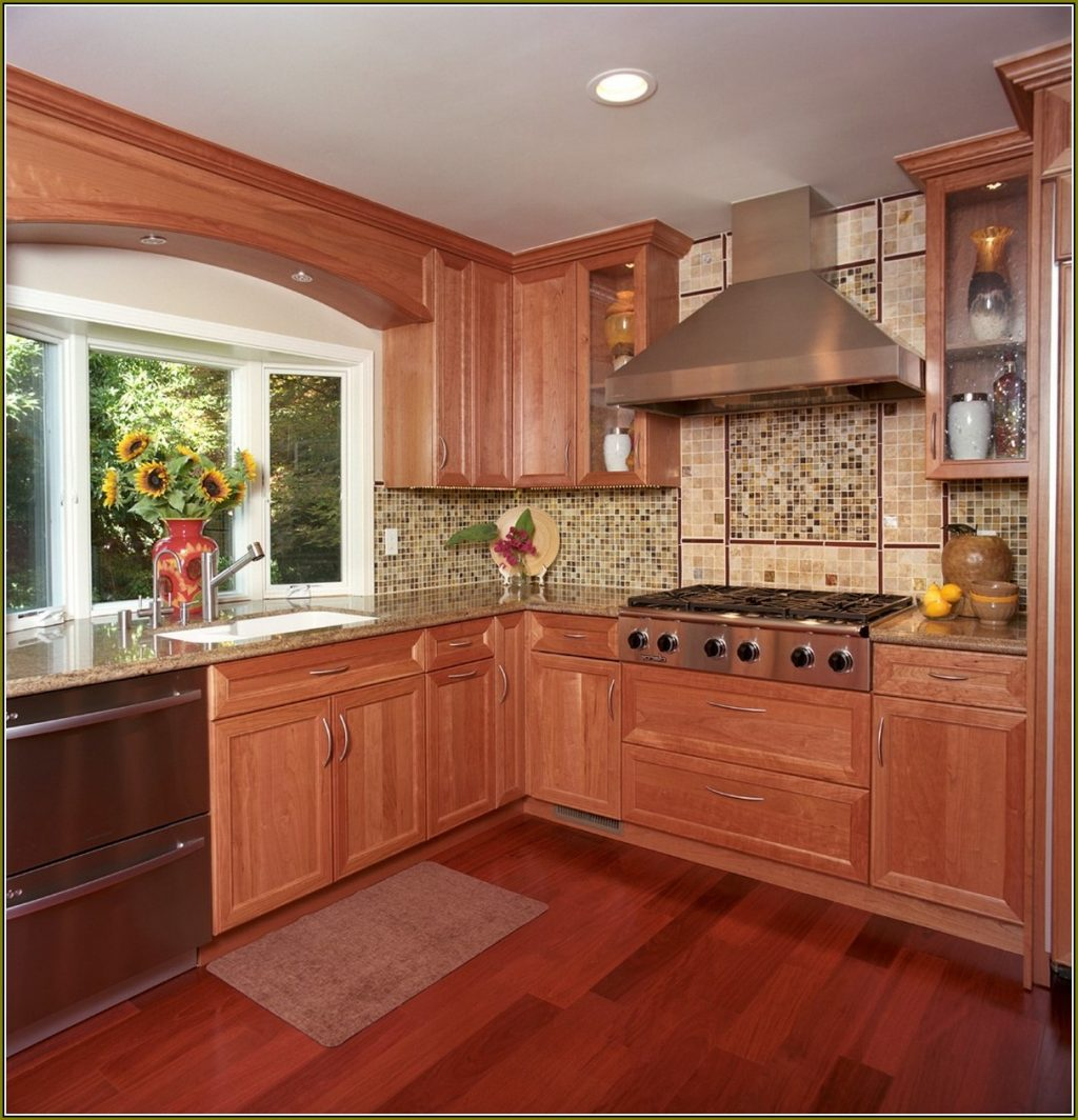 Natural Cherry Wood Kitchen Cabinets Home Design Ideas Cherry Wood Grain