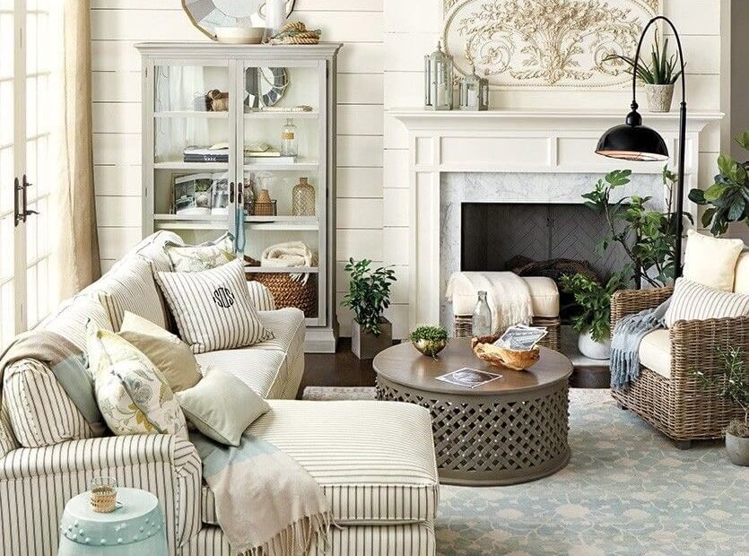 Neutral Farmhouse Living Room Decor Ideas Farmhouse Decor Modern