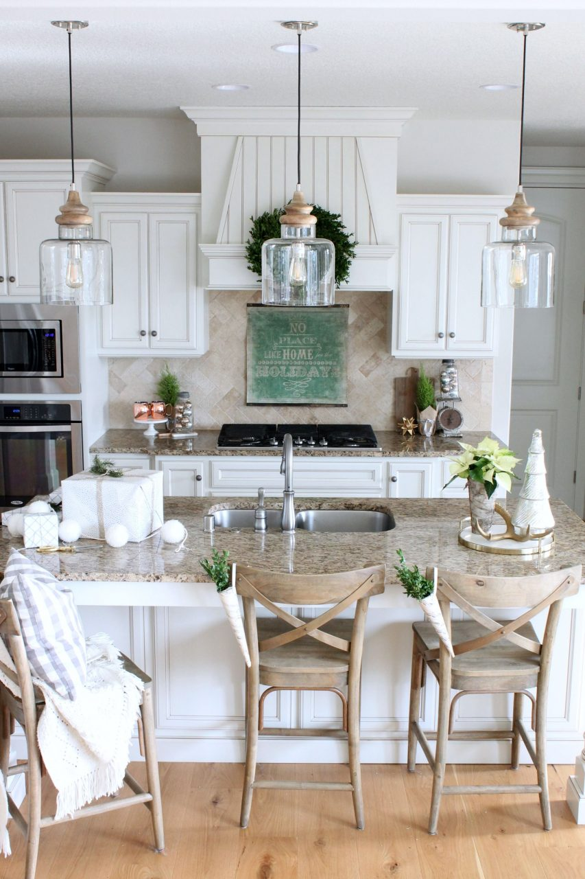 New Farmhouse Style Island Pendant Lights Kitchens Feed The Soul