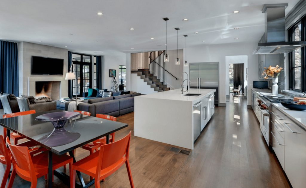 Open Floor Plans A Trend For Modern Living